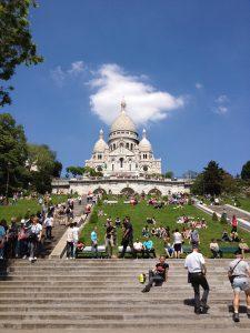 パリ観光のモデルコース、電車でめぐるパリ観光モデルコースの紹介